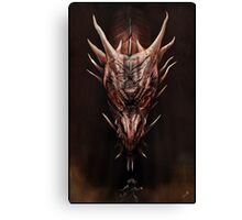 Smaug And The Thief Canvas Print