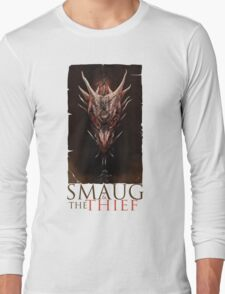 Smaug And The Thief Long Sleeve T-Shirt