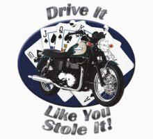 Triumph Bonneville Drive It Like You Stole It Kids Tee