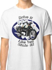 Triumph Bonneville Drive It Like You Stole It Classic T-Shirt