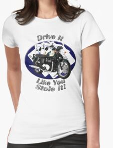 Triumph Bonneville Drive It Like You Stole It Womens Fitted T-Shirt