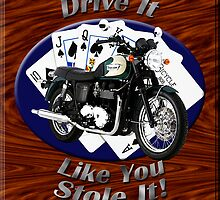 Triumph Bonneville Drive It Like You Stole It by hotcarshirts