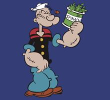 Popeye the Sailor Man by nonsoloart