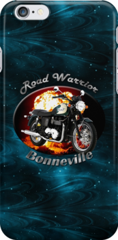 Triumph Bonneville Road Warrior by hotcarshirts