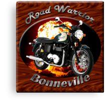 Triumph Bonneville Road Warrior Canvas Print