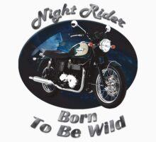 Triumph Bonneville Night Rider T-Shirt