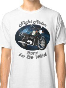 Triumph Bonneville Night Rider Classic T-Shirt