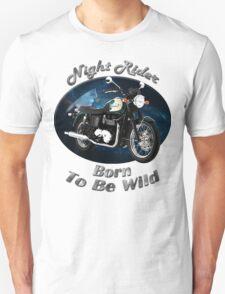 Triumph Bonneville Night Rider Unisex T-Shirt