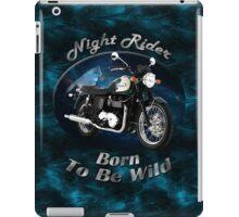 Triumph Bonneville Night Rider iPad Case/Skin