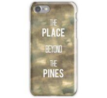 The Place Beyond the Pines iPhone Case/Skin