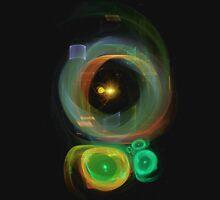 Golden Spiral Solar Systems Unisex T-Shirt