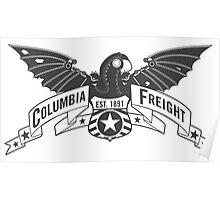 Bioshock Infinite - Columbia Freight (Dark Gray) Poster