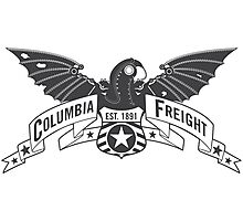 Bioshock Infinite - Columbia Freight (Dark Gray) Photographic Print