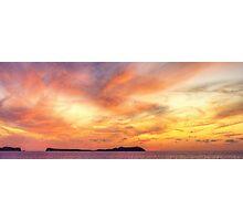 Ibiza Sunset Photographic Print