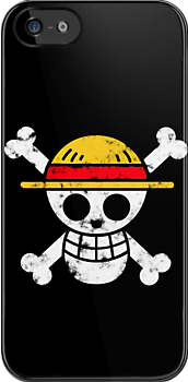Strawhat Jolly Roger by CraftMonsters
