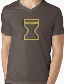Sand Village Symbol Mens V-Neck T-Shirt