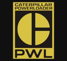 Caterpillar Power Loader - Alien movie by logo-tshirt