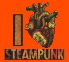 I Heart Steampunk Kids Clothes