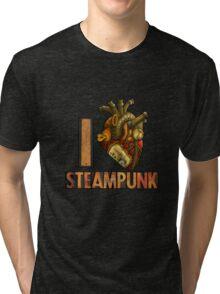 I Heart Steampunk Tri-blend T-Shirt