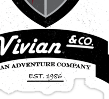 Vivian and Co Adventure Company Sticker