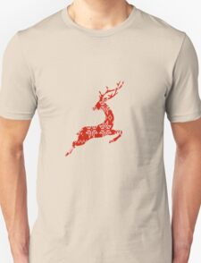 Ugly Christmas Sweater Reindeer T-Shirt