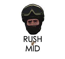 CT - RUSH MID Photographic Print