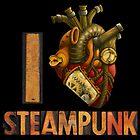 I Heart Steampunk by RoamingGeek
