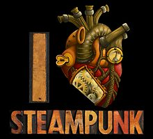 I Heart Steampunk by RoamingGeek