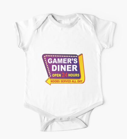 Gamers Diner One Piece - Short Sleeve