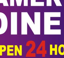 Gamers Diner Sticker