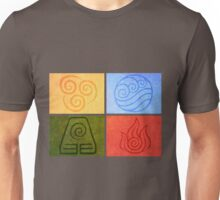 Avatar the Last Airbender - Elements Unisex T-Shirt
