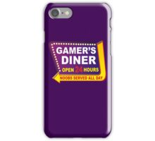 Gamers Diner iPhone Case/Skin