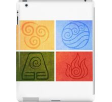 Avatar the Last Airbender - Elements iPad Case/Skin