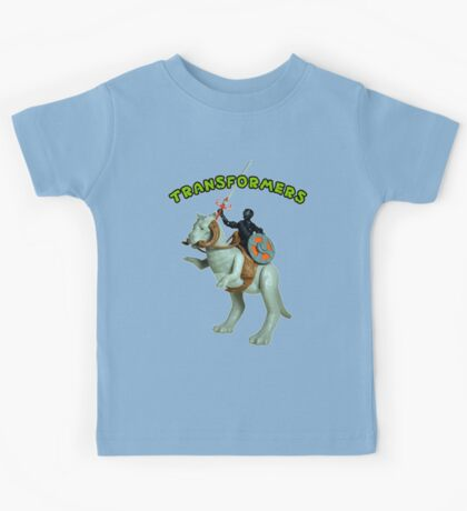 Because Action Figures Kids Tee