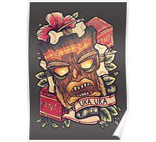 "Uka Uka ""Crash Bandicoot"" Poster"