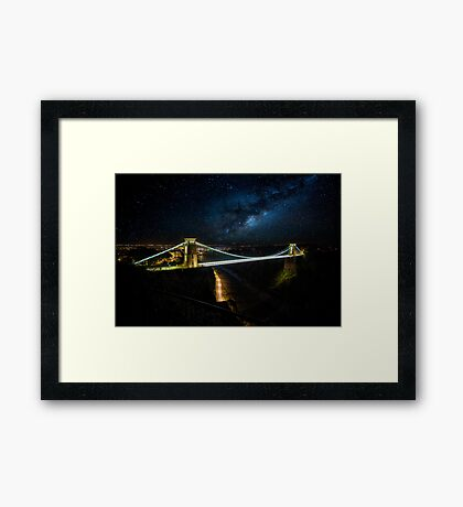 Clifton Suspension Bridge. Framed Print