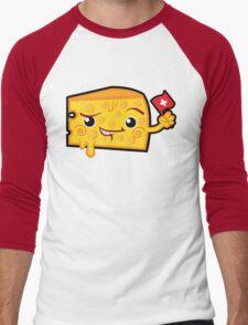 Cheesy Men's Baseball ¾ T-Shirt