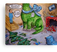 Timmy's Most Excellent Christmas Canvas Print