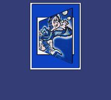 blue boy runnin' Unisex T-Shirt