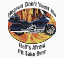 Honda Gold Wing Heaven Don't Want Me T-Shirt