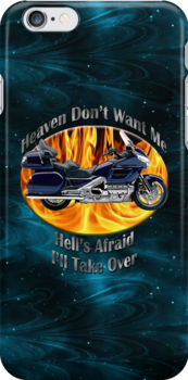Honda Gold Wing Heaven Don't Want Me by hotcarshirts