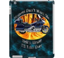 Honda Gold Wing Heaven Don't Want Me iPad Case/Skin