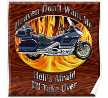 Honda Gold Wing Heaven Don't Want Me Poster