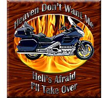 Honda Gold Wing Heaven Don't Want Me Photographic Print