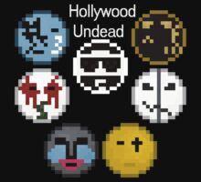 Hollywood Undead Pixelated by MagnaFire39