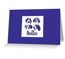 The Beagles Greeting Card