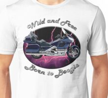 Honda Gold Wing Wild and Free Unisex T-Shirt