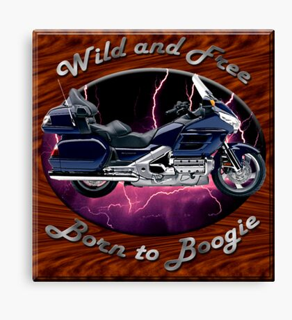 Honda Gold Wing Wild and Free Canvas Print