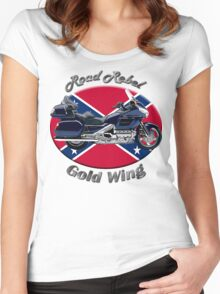 Honda Gold Wing Road Rebel Women's Fitted Scoop T-Shirt