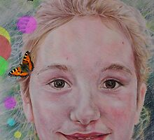 Freya Rose & The Butterflies by SandyStar